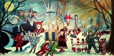 A Carnival Life Poster by Richard  Hubal