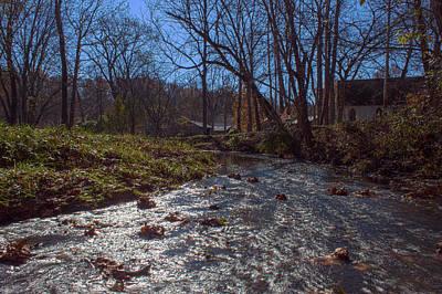 A Creek Runs Though It Poster by Thomas Sellberg