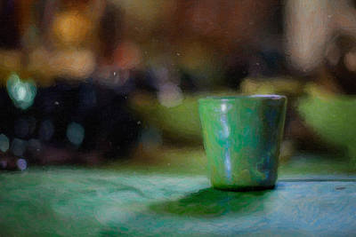 A Cup Poster by Emmanouil Klimis
