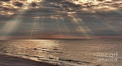 A Divine Sunrise Poster by Henry Kowalski