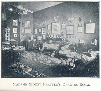 A Drawing Room Poster by British Library