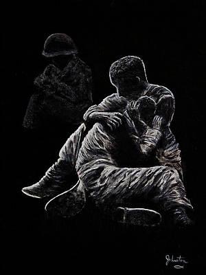 My Friend Killed In Korean War Poster by Bob Johnston