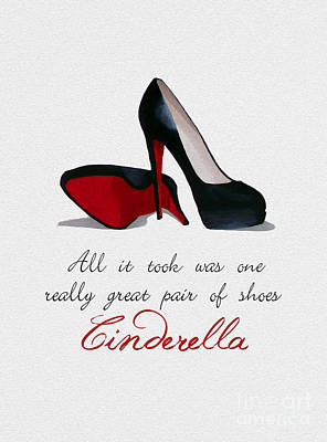 A Great Pair Of Shoes Poster by Rebecca Jenkins