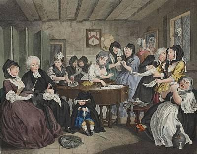 A Harlots Progress, Plate Vi Poster by William Hogarth