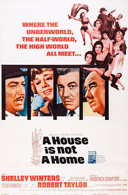 A House Is Not A Home, Us Poster Art Poster by Everett
