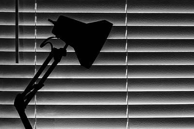 A Light In The Dark Still Life Poster by Tom Mc Nemar