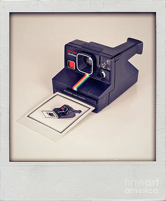 A Polaroid Of A Polaroid Taking A Polaroid Of A Polaroid Taking A Polaroid Of A Polaroid Taking A .. Poster by Mark Miller