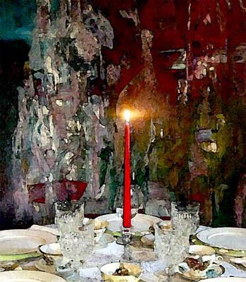 A Quaint Table Setting Poster by Lisa Kaiser