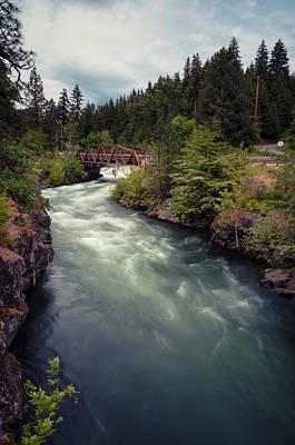 A River Runs Through It Poster by Brian Bonham