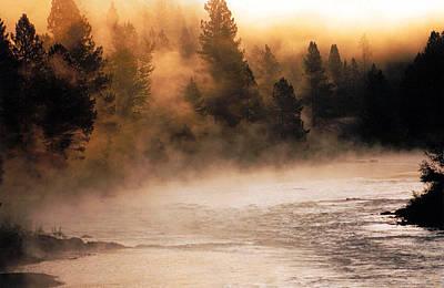 A River Runs Through It Poster by Thomas Schoeller