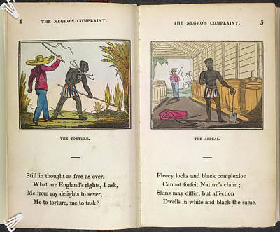 A Slave Being Flogged Poster by British Library
