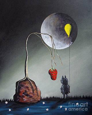A Strange Dream By Shawna Erback Poster by Shawna Erback