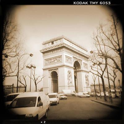 A Walk Through Paris 2 Poster by Mike McGlothlen