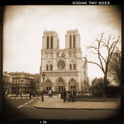 A Walk Through Paris 24 Poster by Mike McGlothlen