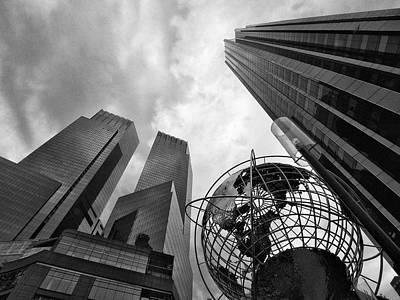 A World Of Skyscrapers Poster by Cornelis Verwaal