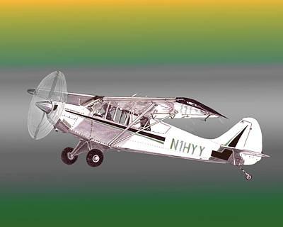 A1a Husky Aviat Airplane Poster by Jack Pumphrey