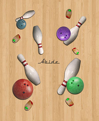 Abide 2w Poster by Filippo B