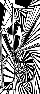 Abnegation Poster by Douglas Christian Larsen