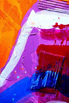 Abstract  19614 Cropped Vi Poster by John  Nolan