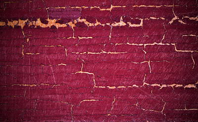 Abstract Bordo Background Poster by Jozef Jankola