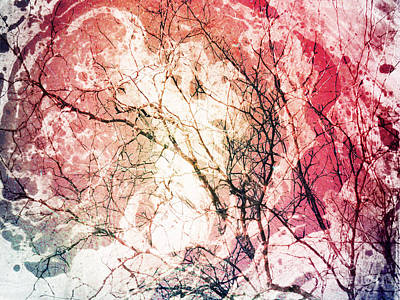 Abstract Branches Poster by Jennifer Kimberly