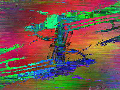 Abstract Cubed 66 Poster by Tim Allen