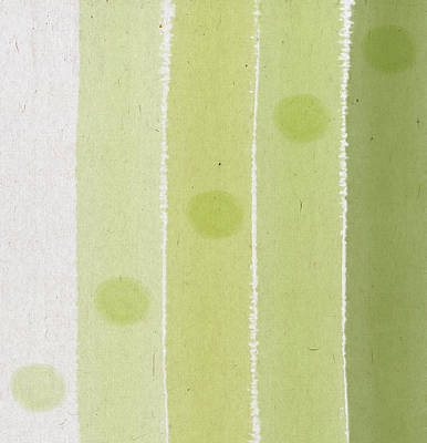 Abstract Green Poster by Aged Pixel