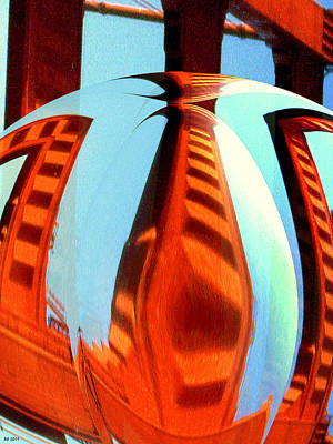 Abstract One - Modern Art Poster by Art America Online Gallery