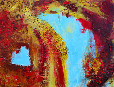 Abstract Painting Elements 3 Poster by Patricia Awapara