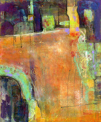 Abstract Painting Simple Pleasure Poster by Blenda Studio