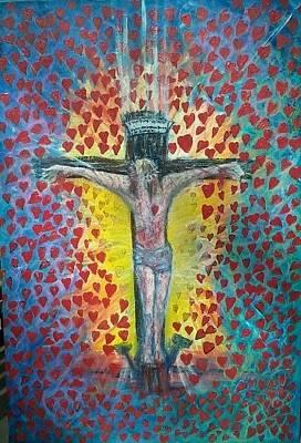 Abundant Love Too Poster by Richard  Hubal