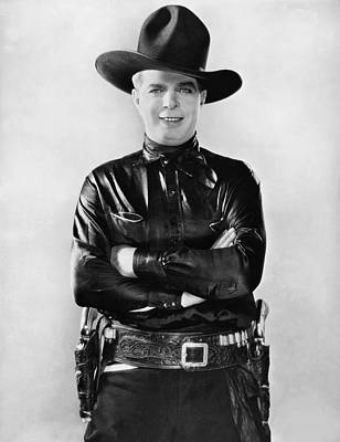 Actor Hoot Gibson Poster by Underwood Archives