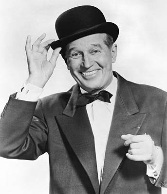 Actor Maurice Chevalier Poster by Underwood Archives