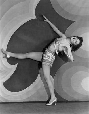 Actress Nancy Carroll Dancing Poster by Underwood Archives