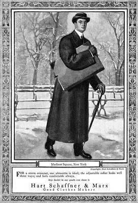 Ad Fur Coat, 1911 Poster by Granger