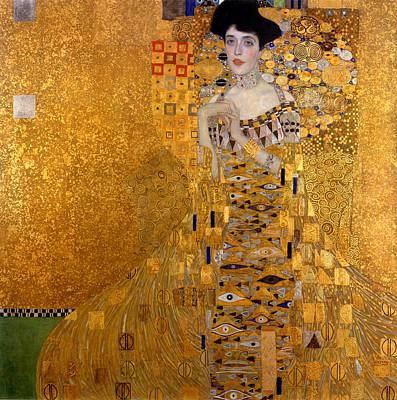 Adele Bloch Bauers Portrait Poster by Gustive Klimt