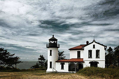 Admiralty Head Lighthouse Poster by Joan Carroll