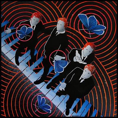 Adonis Blue 4 Poster by Bedard Art