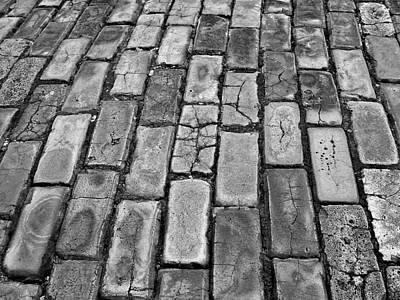 Adoquines - Old San Juan Pavers Poster by Guillermo Rodriguez