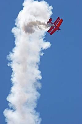 Aerial Acrobatics Display Poster by Jim West