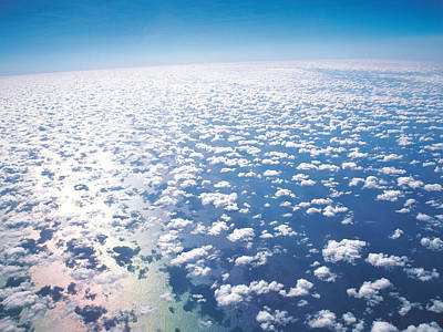 Aerial View Of Clouds And Sky Poster by Panoramic Images
