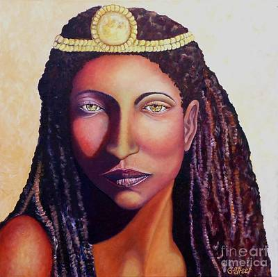 An African Face Poster by Caroline Street