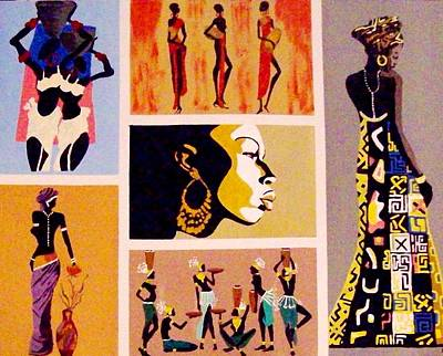 African Culture Poster by Lynette  Swart