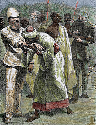 African Native Kissing The Arm Of An Poster by Prisma Archivo