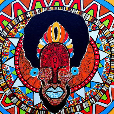 Afro-cacique Poster by Ramel Jasir