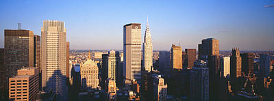 Afternoon Midtown Manhattan New York Ny Poster by Panoramic Images