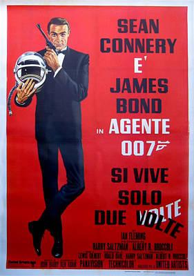 Agente 007 Si Vive Solo Due Volte Poster by Georgia Fowler
