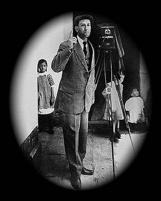 Agustin Victor Casasola With His Camera No Location Or Date Poster by David Lee Guss