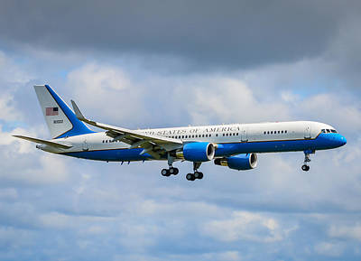 Air Force Two Poster by Puget  Exposure