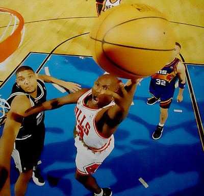 Air Jordan Easy Two Poster by Brian Reaves